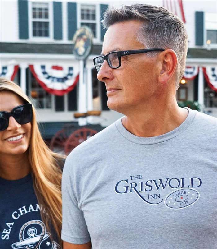 Classic Griswold Inn Gray Tee