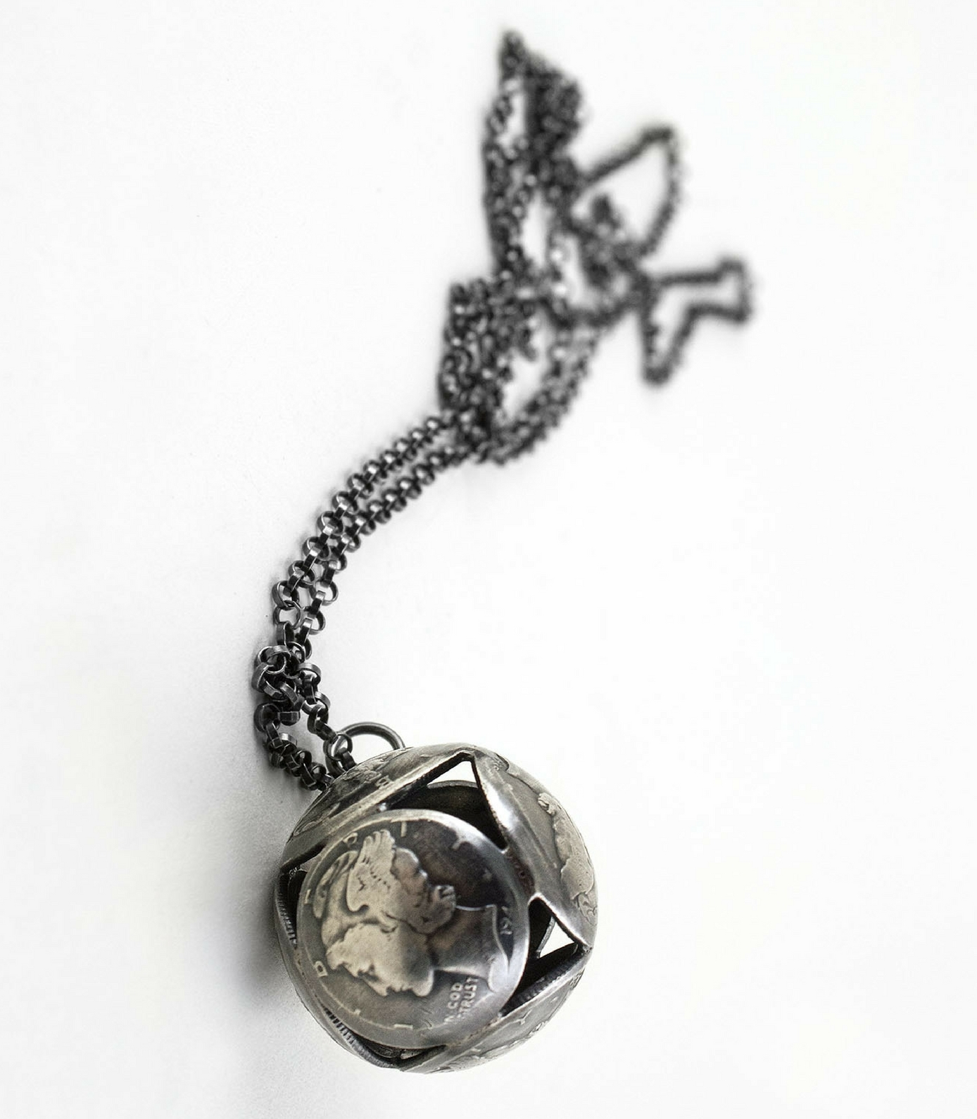 Mercury Sphere Necklace