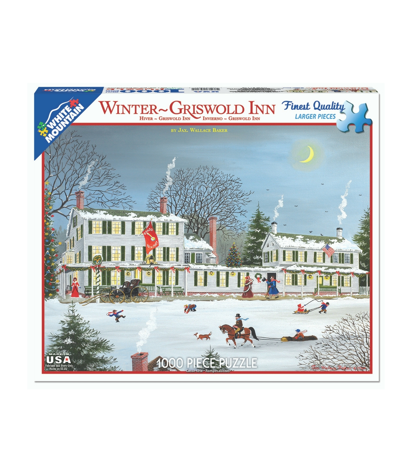 Winterime Puzzle - Griswold Inn