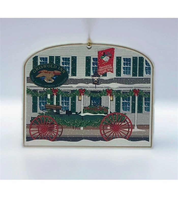 Griswold Inn Wagon Ornament