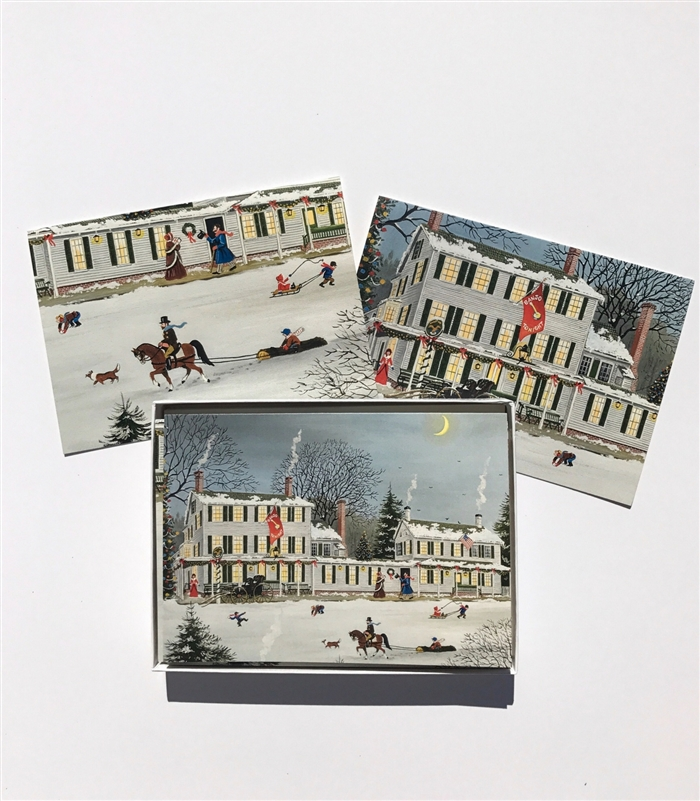 Winter Scene Boxed Notecards