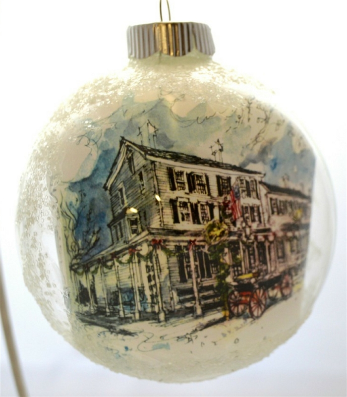Gris Glass Ornament